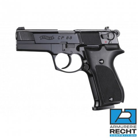 PISTOLET WALTHER CP88 3.5'' BLACK WALTHER CO2 CAL 4.5MM