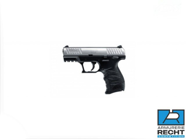 Pistolet WALTHER CCP Stainless - cal.9mmPara