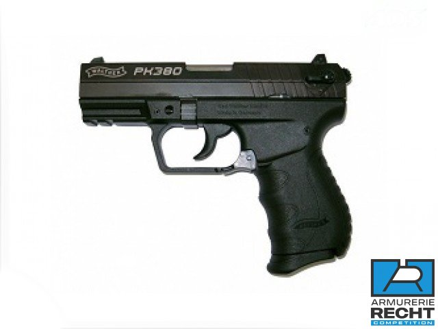 Pistolet WALTHER PK380 - Cal.9mm Crt