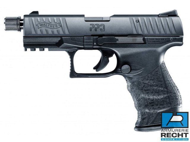 Pistolet WALTHER PPQ M2 Tactical - cal. 22LR