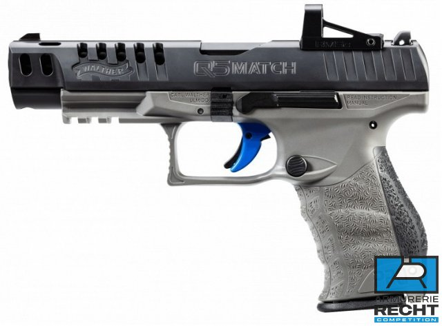 PISTOLET WALTHER PPQ COMBO 9MM